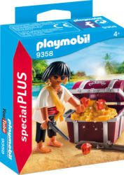 Playmobil 9358 Pirate with treasure chest (9358)