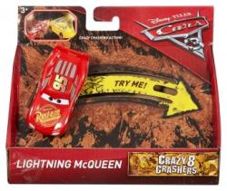 Mattel Disney Pixar Masina Cars 3 Crazy 8 Crashes Lightning McQueen DYB04