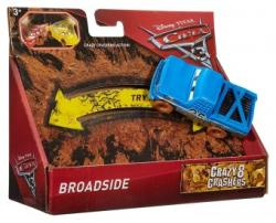 Mattel Disney Pixar Masina Cars 3 Crazy 8 Crashes Broadside DYB08