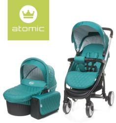 4baby Carucior ATOMIC 2 in 1 Red