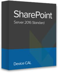 Microsoft SharePoint Server 2016 Standard Device CAL, 76M-01598 certificat electronic