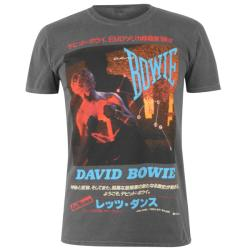 Official Tricouri Official Vintage Band David Bowie (59938526)