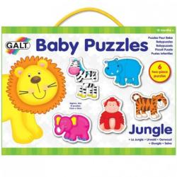 Galt Baby Puzzle 2 piese - Animale din jungla