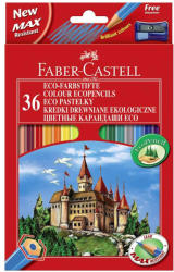 Faber-Castell Creioane colorate eco 36 buc/set FABER-CASTELL, FC120136