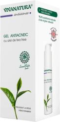 Viva Natura Gel antiacneic cu ulei de Tea Tree, 50 ml