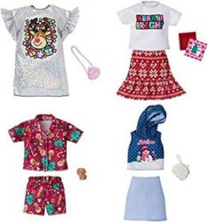 Mattel Barbie Holiday Fashion Set Haine GGG48