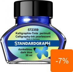 StandardGraph Calimara Cerneala StandardGraph 30ml Dark Blue 572359 (572359)
