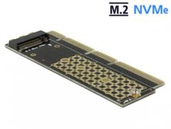 Delock PCI Express x16 (x4 / x8) la un port NVMe M. 2 Key M pentru Server 1U, Delock 90303 (90303)