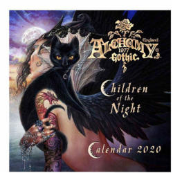 Alchemy Gothic Calendar ALCHEMY GOTHIC - Children Of The Night - CAL20