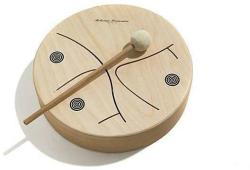 Rohema Wooden Tom 3-Tone 24cm with 1 Beater PM458 (ROH-61597)
