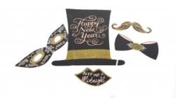 Balloons4party Props Happy New Year / Revelion 5 buc
