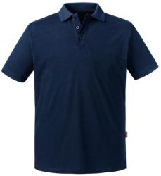 Russell Pure Organic Tricou Polo Leonard M French Navy
