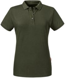 Russell Pure Organic Tricou Polo Anelis XL Dark Olive