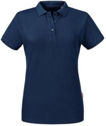 Russell Pure Organic Tricou Polo Anelis XS French Navy