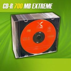 extreme Medii de stocare extreme CD-R/10/Slim 700MB 52x (E5905784761374)