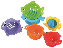 A-Haberkorn Jucarii baie Under the sea, pestisori 6/set, 6L+ A Haberkorn (KRD-269600)
