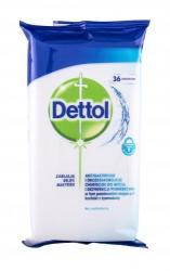 Dettol Antibacterial Cleansing Surface Wipes protecție antibacteriană 36 buc unisex