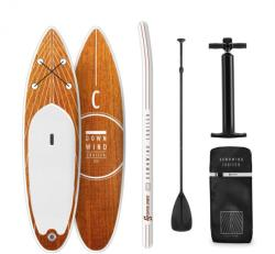 Capital Sports Downwind Cruiser S, paddle board gonflabil, set complet, 305 x 10 x 77 (WTR1-Downwind-S)
