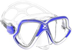 Mares X-Vision MID 2.0 Blue White/Clear (10217-MARES)
