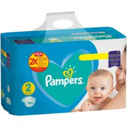 Pampers Scutece Pampers Active Baby Giant Pack Marimea 2 Nou Nascut 4 8 kg 100 buc (8001090949370)
