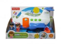 Fisher-Price Fisher-Price Little People Lil Movers Airplane CBL28 (limba poloneza)