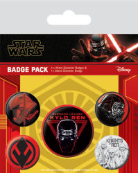 Pyramid International Set insigne Star Wars: The Rise of Skywalker - Sith