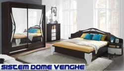 MobAmbient Mobila dormitor culoare wenge - model DOME