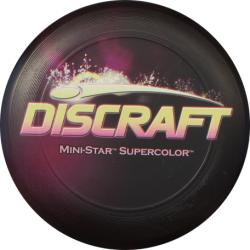 Discraft Mini Star Violet Sparkle