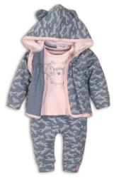 DIRKJE Set 3 piese C-SO SOFT MEOW 74 Navy-Pink (AGS31C-34206-74)