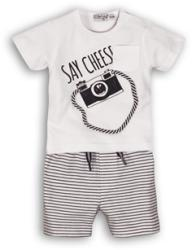 DIRKJE Set 2 piese C-SO SUNNY SAY CHEESE 74 White-Navy (AGS31C-34501-74)