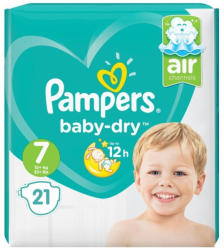 Pampers Scutece Pampers Nr. 7 21buc Baby-Dry