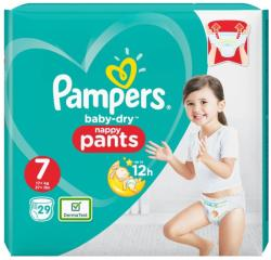 Pampers Scutece Pampers Nr. 7 29buc baby Dry Pants