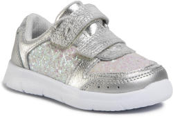 Clarks Sneakers CLARKS - Ath Sonar T 261496486 Silver Leather
