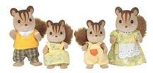 Sylvanian Families Jucarie Sylvanian Families Walnut Squirrel Family