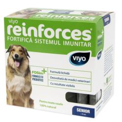 Viyo Supliment nutritiv pentru caini Viyo Reinforces Dog Senior 7 x 30 ml (Viyo Reinforces Dog Senior 7x30 ml)
