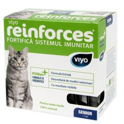 Viyo Supliment nutritiv pentru pisici Viyo Reinforces Cat Senior, 7 x 30 ml (Viyo Reinforces Cat Senior 7x30 ml)