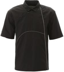 A Cold Wall Tricou barbat A cold wall nylon polo shirt with piping Negru m