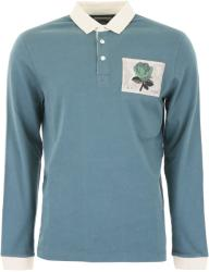 Kent And Curwen Tricou barbat Kent and curwen polo shirt with rose patch Verde xl
