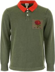 Kent And Curwen Tricou barbat Kent and curwen polo with rose patch Multicolor m