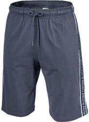 Russell Athletic STRIPED PRINTED SHORTS barbati gri închis S