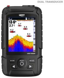 Lucky Fishfinder Sonar handheld LUCKY KNIGHT, compact, plutitor, wireless + wired (EF. 74871520)