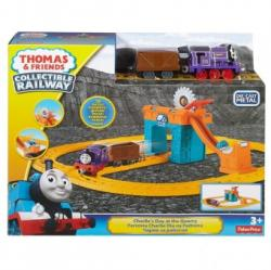 Fisher-Price Tren Thomas & Friends Collectible Railway Charlie's Day at the Quarry FBC59