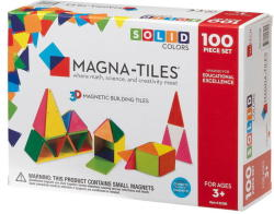 Magna-Tiles Magna-Tiles Solid Colors set magnetic (100 piese)