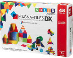 Magna-Tiles Magna-Tiles Solid Colors set magnetic (48 piese)