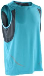 Spiro Vestă Athletic Spiro Unisex S Aqua/Grey