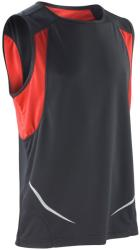 Spiro Vestă Athletic Spiro Unisex XL Black/Red