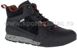 Merrell Ghete Merrell Burnt Rock Mid Waterproof Negru 44