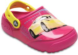 Crocs Saboti Crocs Fun Lab Lights Cars 3 Clog Roz 34.5