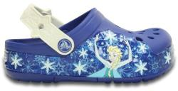 Crocs Saboti Crocs Lights Frozen Fever Clog Albastru 22.5