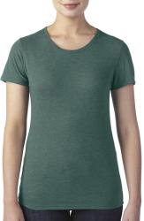 Anvil Tricou Margherita XL Heather Dark Green